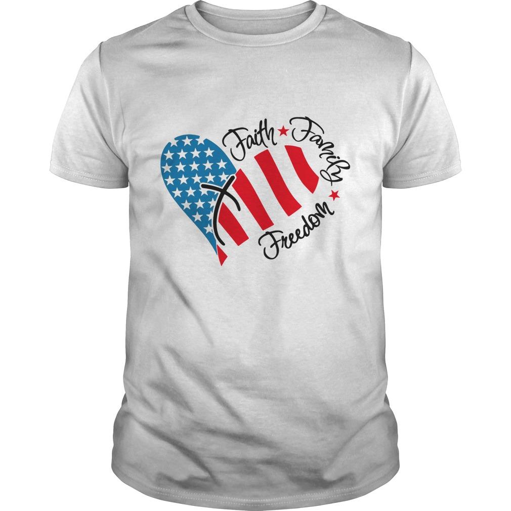 Faith Family Freedom Shirt