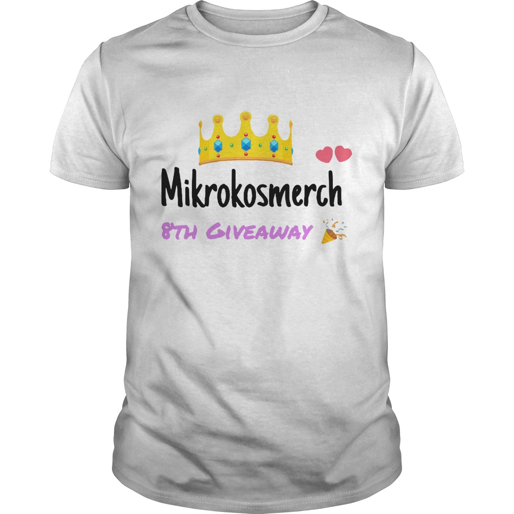 Mikrokosmerch 8th giveaway shirt