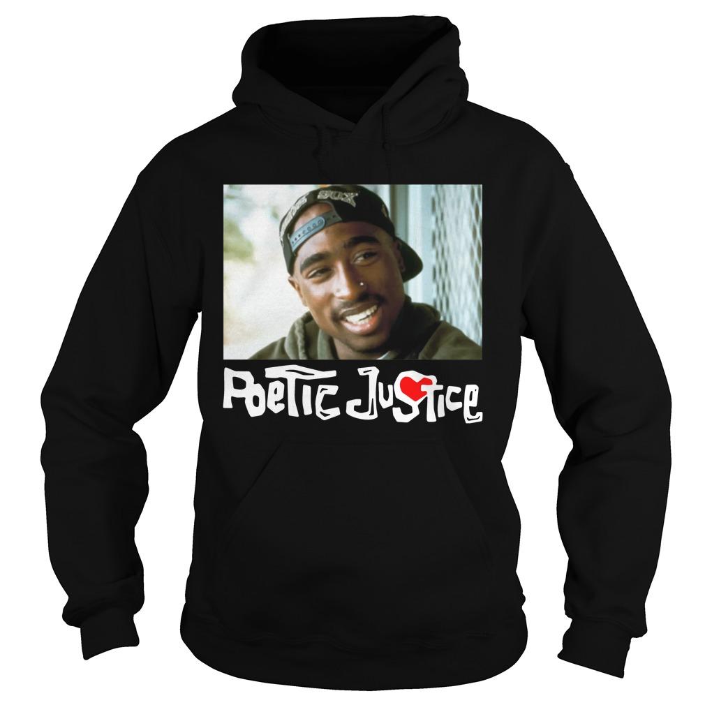 Poetic Justice Tupac Smiling Portrait Shirt hoodie