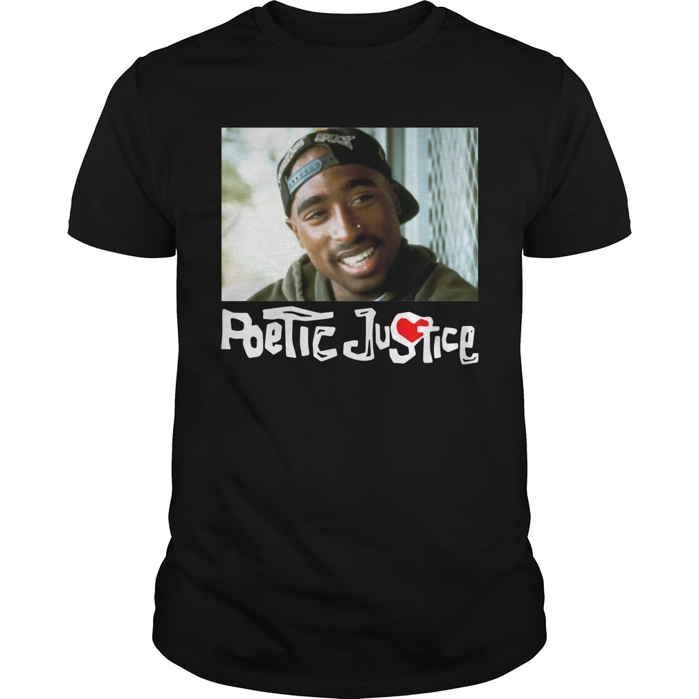 Poetic Justice Tupac Smiling Portrait Shirt