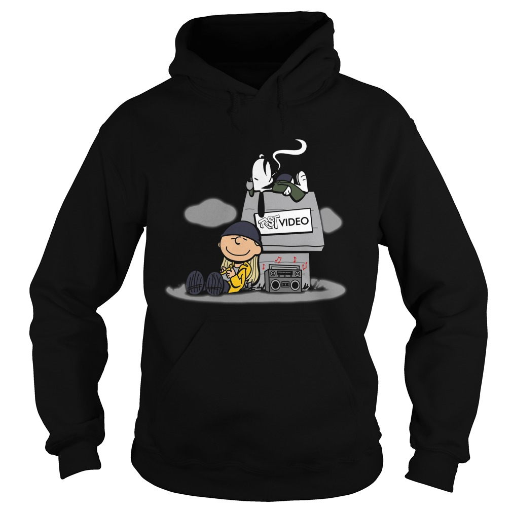 Snoopy And Charlie Brown Listening RST Video Shirt hoodie