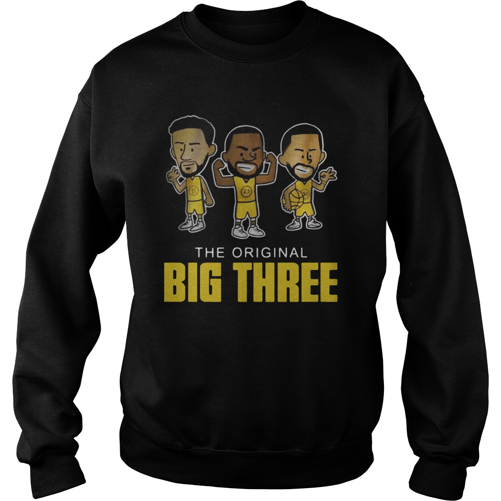 The original big three Klay Thompson Draymond Green and Steph Curry Shirt sweater