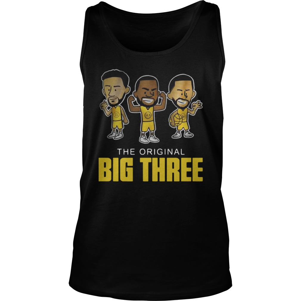 newest f43ff 39601 The original big three Klay Thompson Draymond Green and Steph Curry Shirt