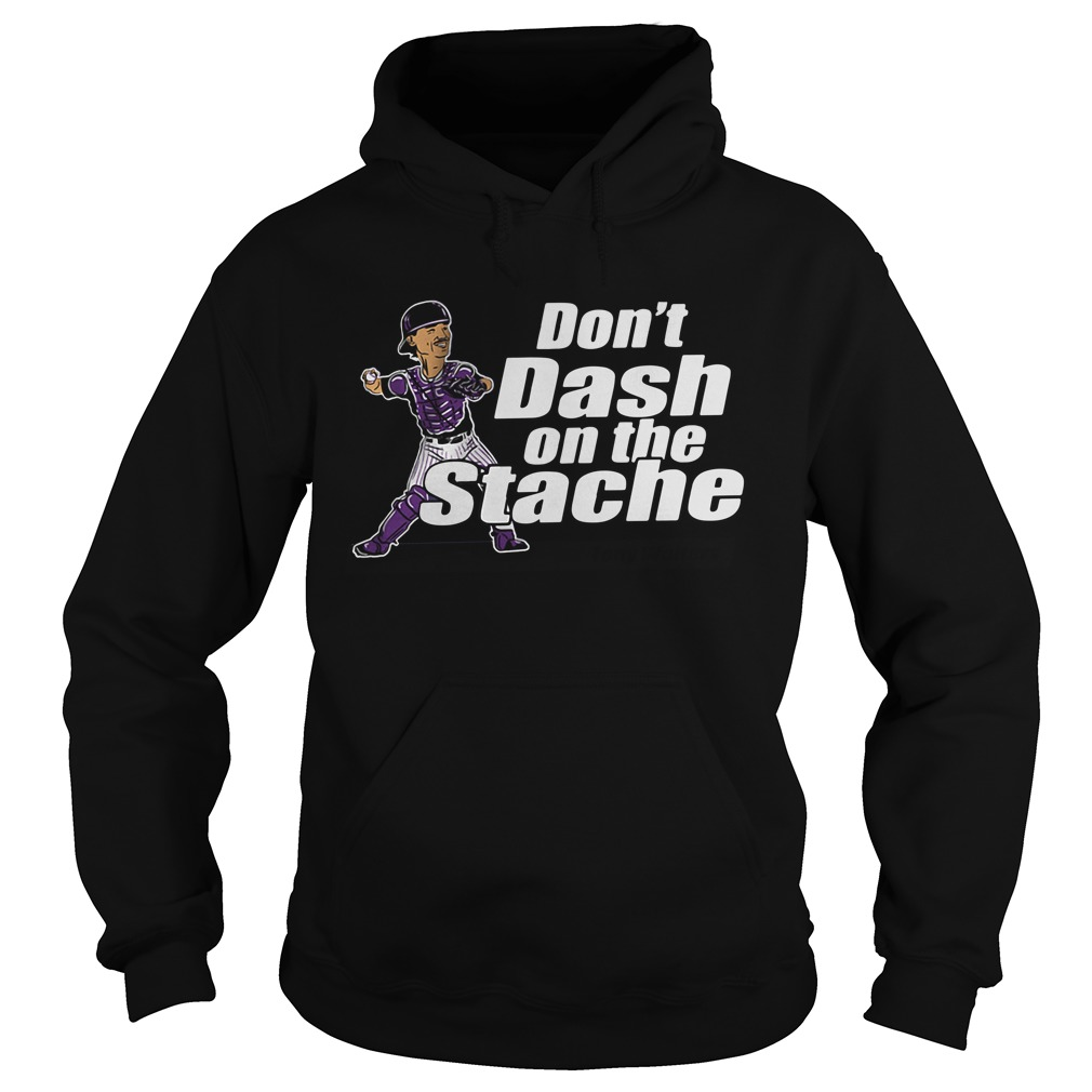 Official Don't Dash On The Stache Hoodie