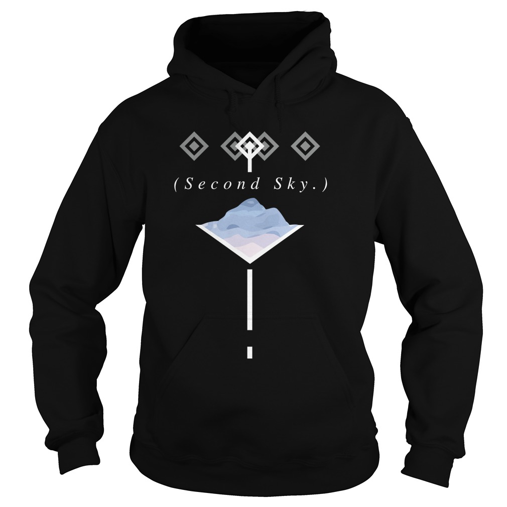 Official Second Sky Merch Hoodie
