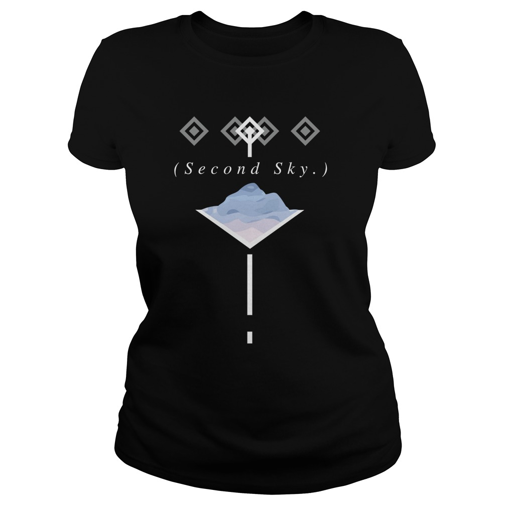 Official Second Sky Merch Ladies Shirt