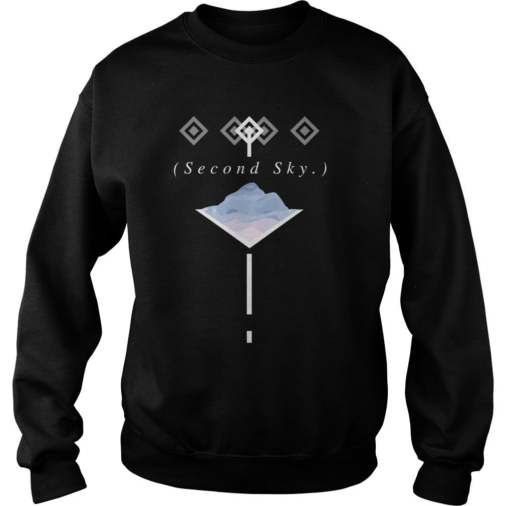 Official Second Sky Merch Sweatshirt