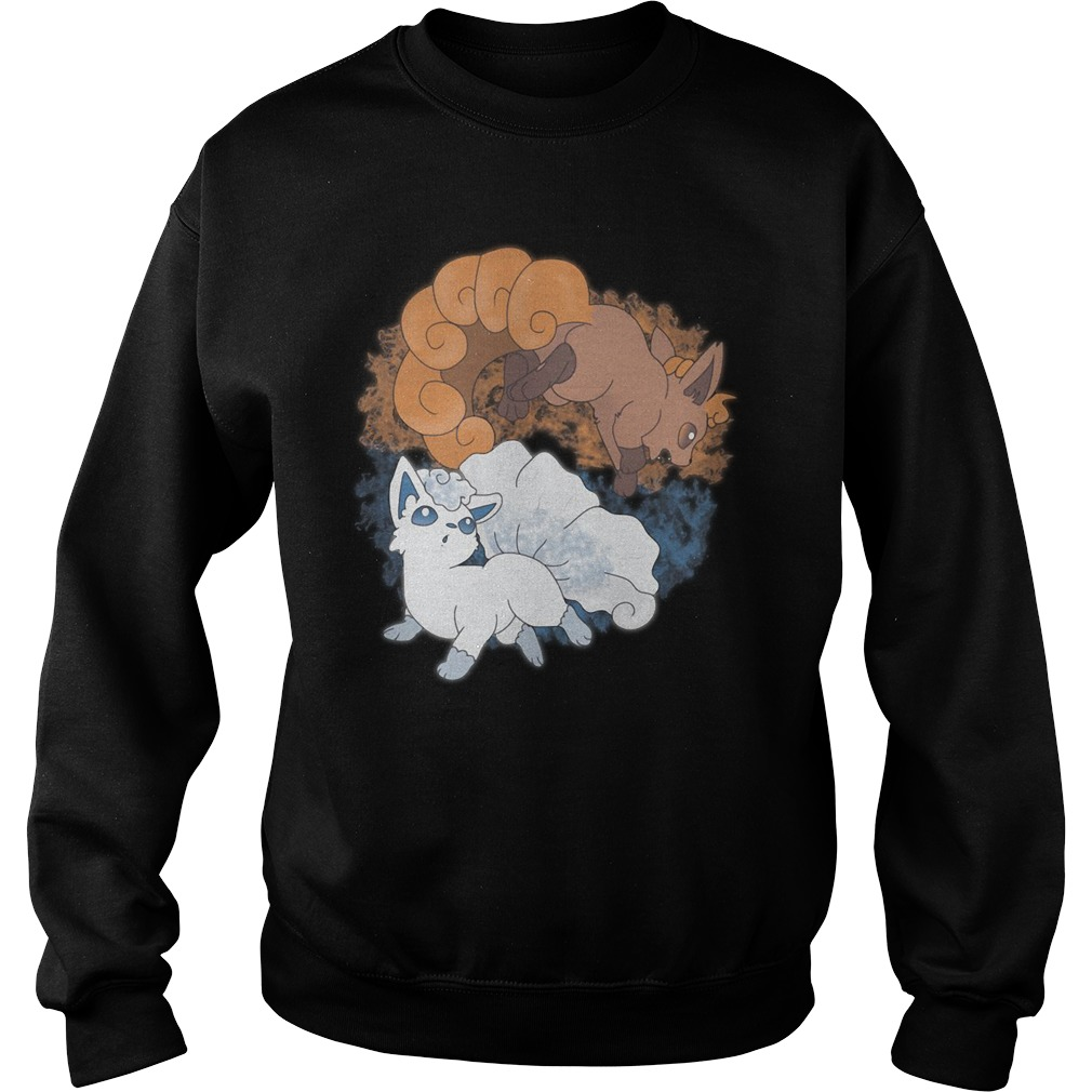 The Song Eves Of Fire And Ice Sweatshirt