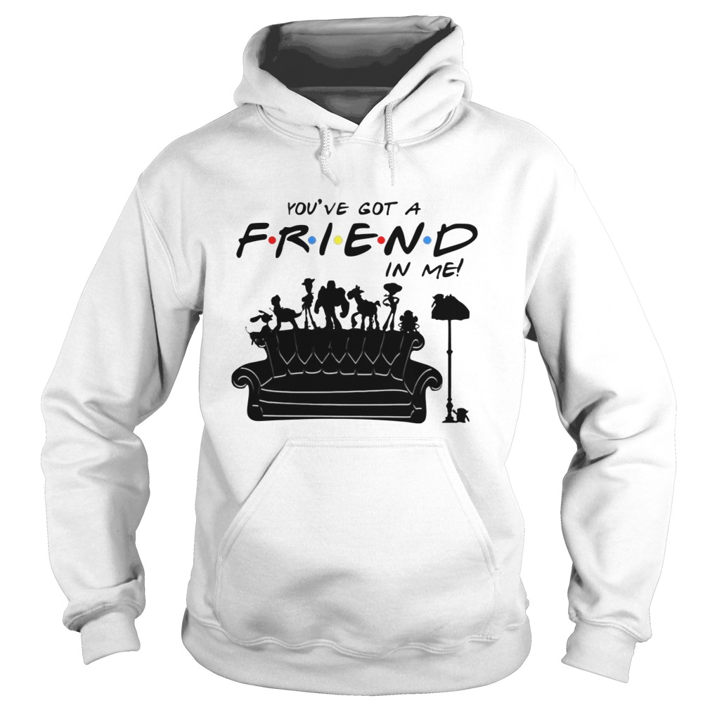 Toy Story Group Of Friends You've Got A Friend in Me Hoodie