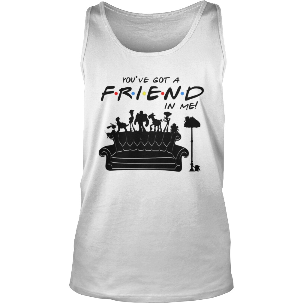 Toy Story Group Of Friends You've Got A Friend in Me Tank top