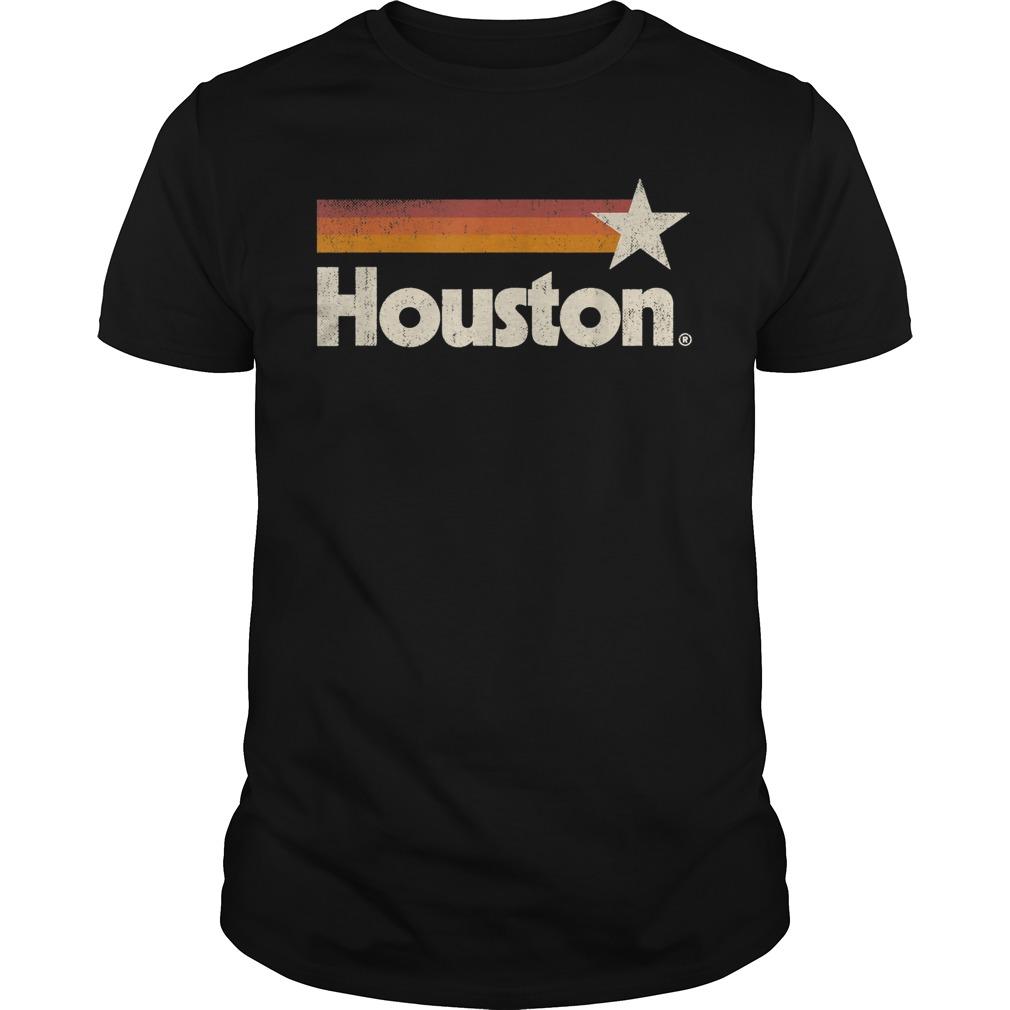 Black Houston Texas Shirt