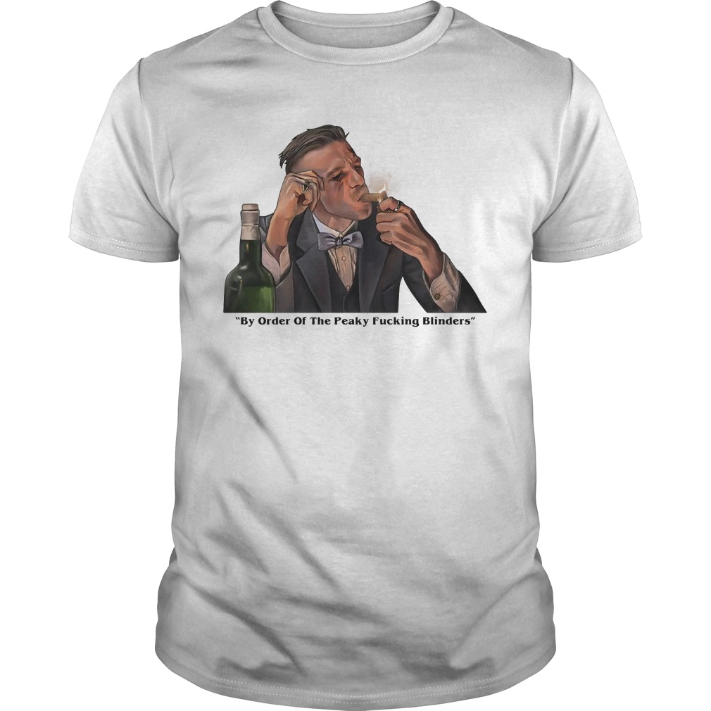 By order of the Peaky Blinders Arthur Shelby Shirt