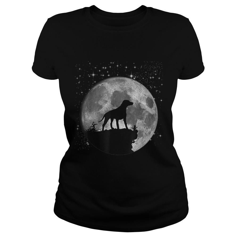 Dalmatian Dog Lover Moon Landing 50th Anniversary Shirt ladies tee