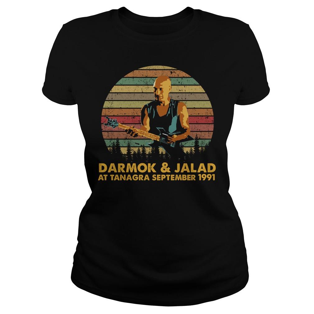 Darmok And Jalad At Tanagra September 1991 Shirt ladies tee