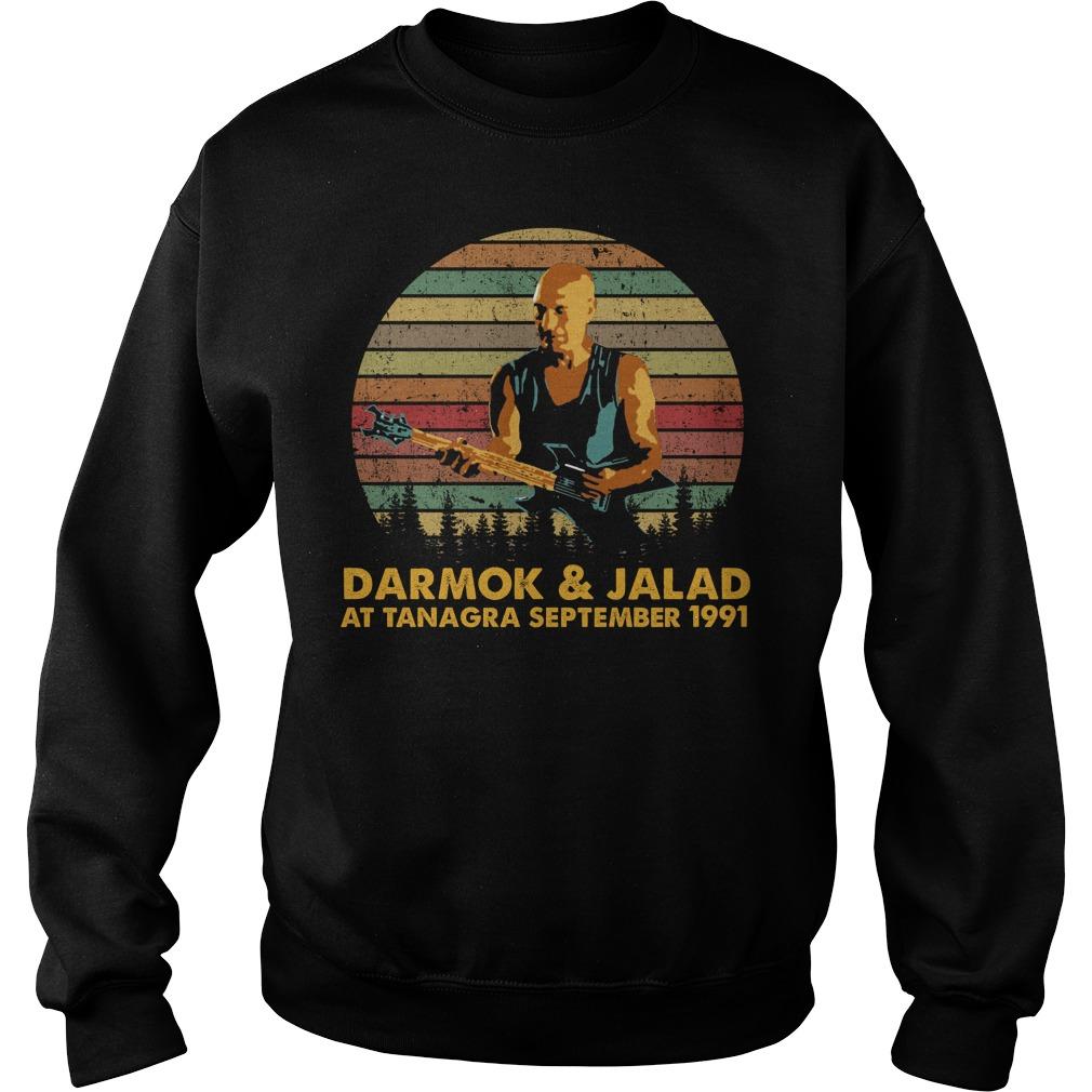 Darmok And Jalad At Tanagra September 1991 Shirt sweater