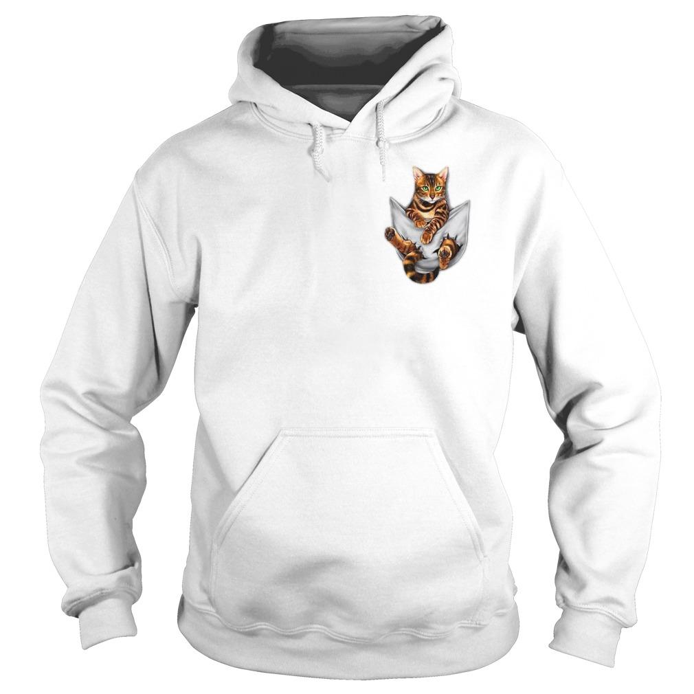 Get Cat Pocket Shirt hoodie