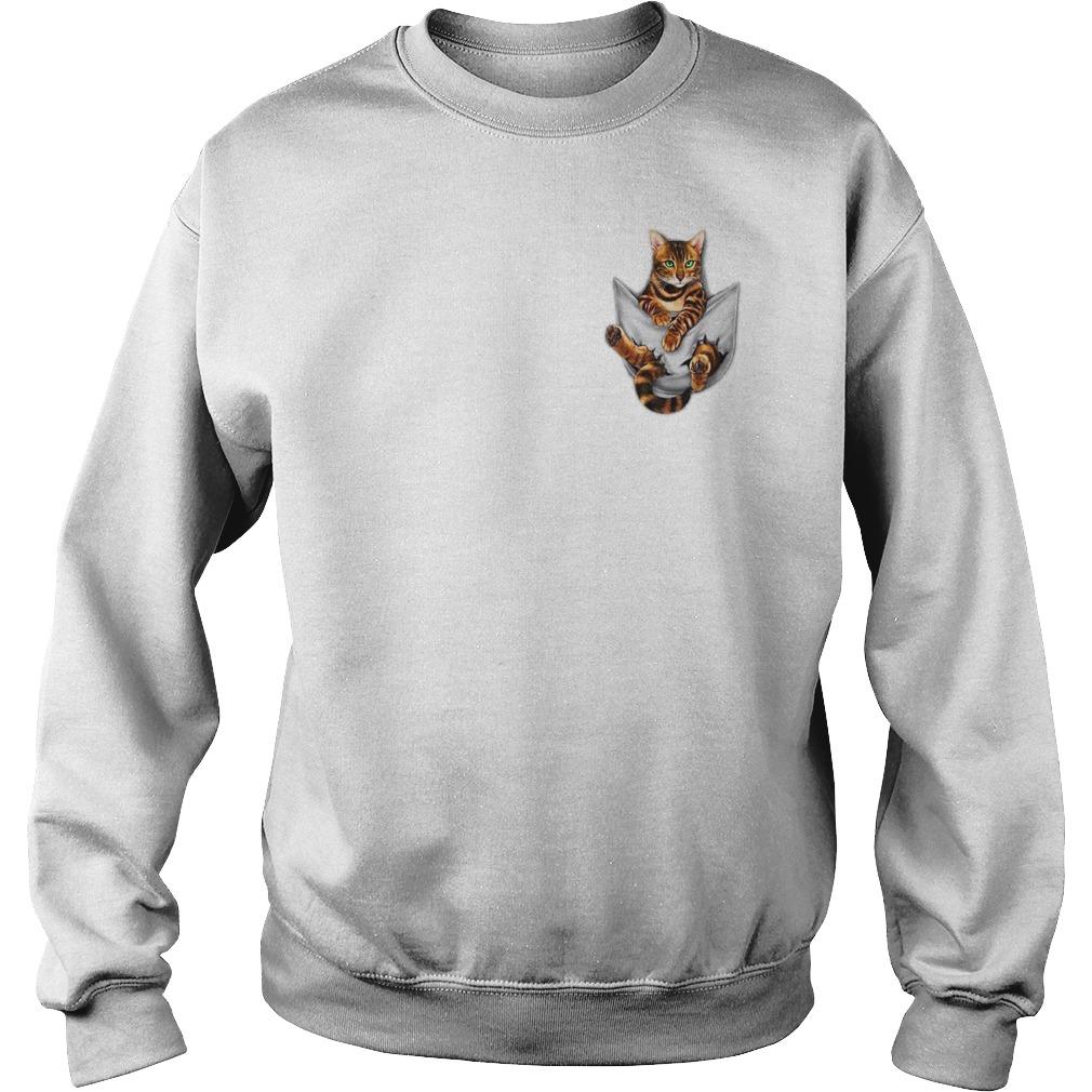 Get Cat Pocket Shirt sweater