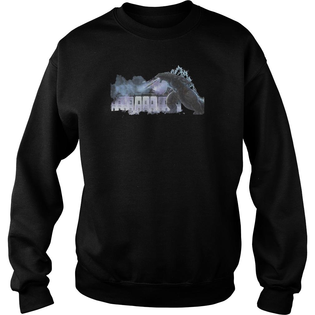 Godzilla Guys Tee Shirt sweater