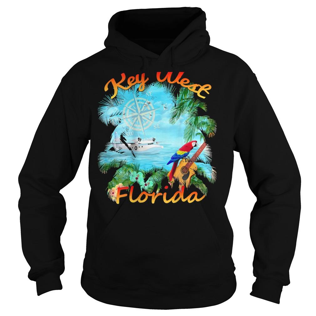 Key West Tropical Rock Shirt hoodie