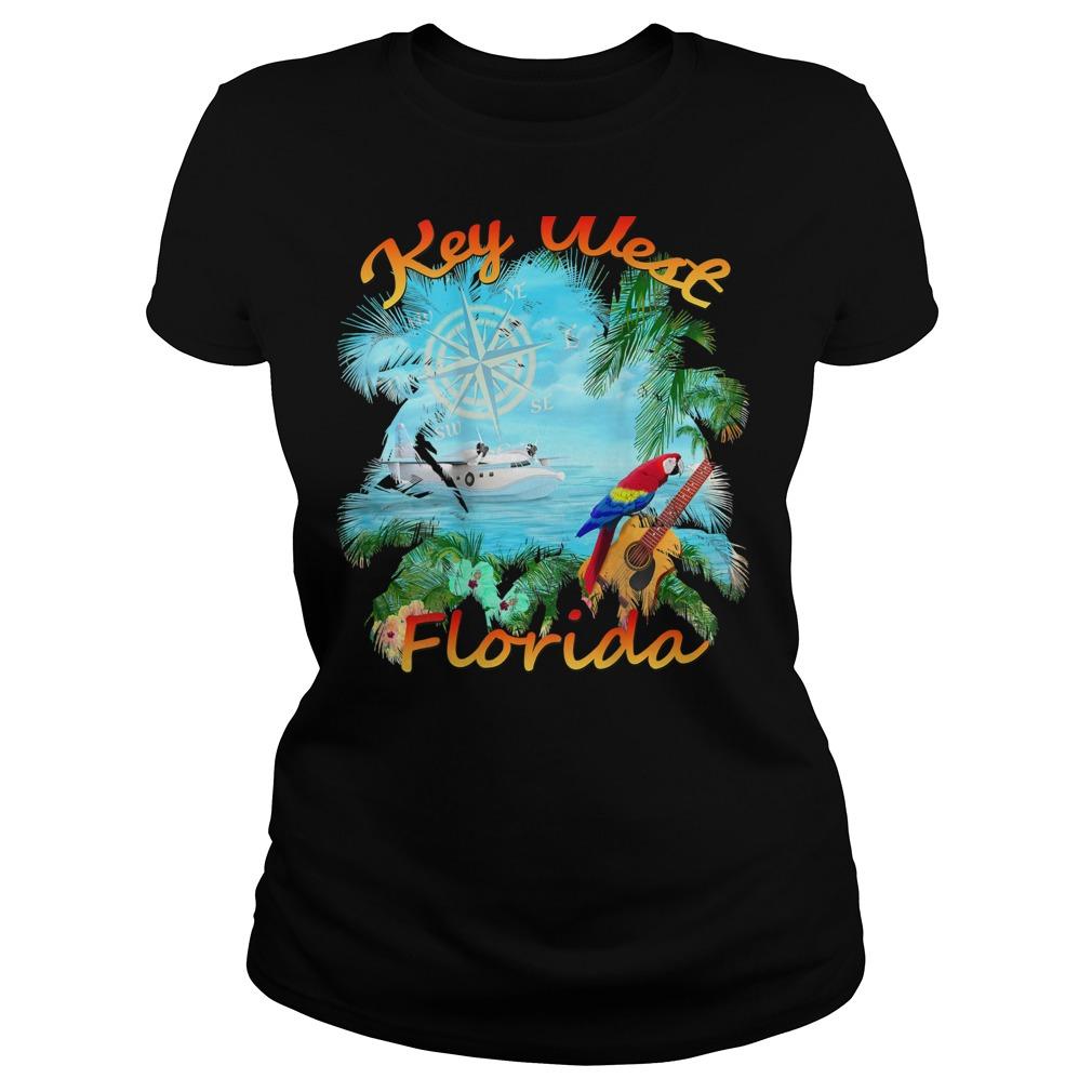 Key West Tropical Rock Shirt ladies tee
