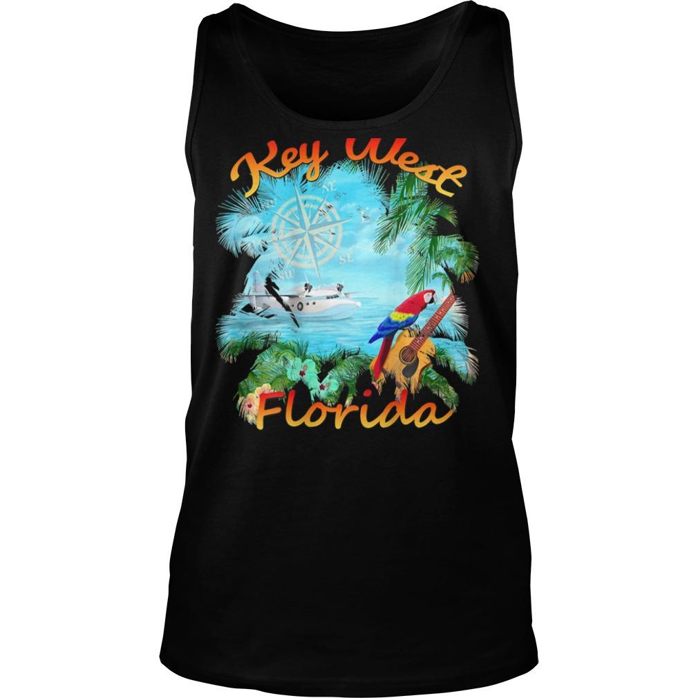 Key West Tropical Rock Shirt tank top