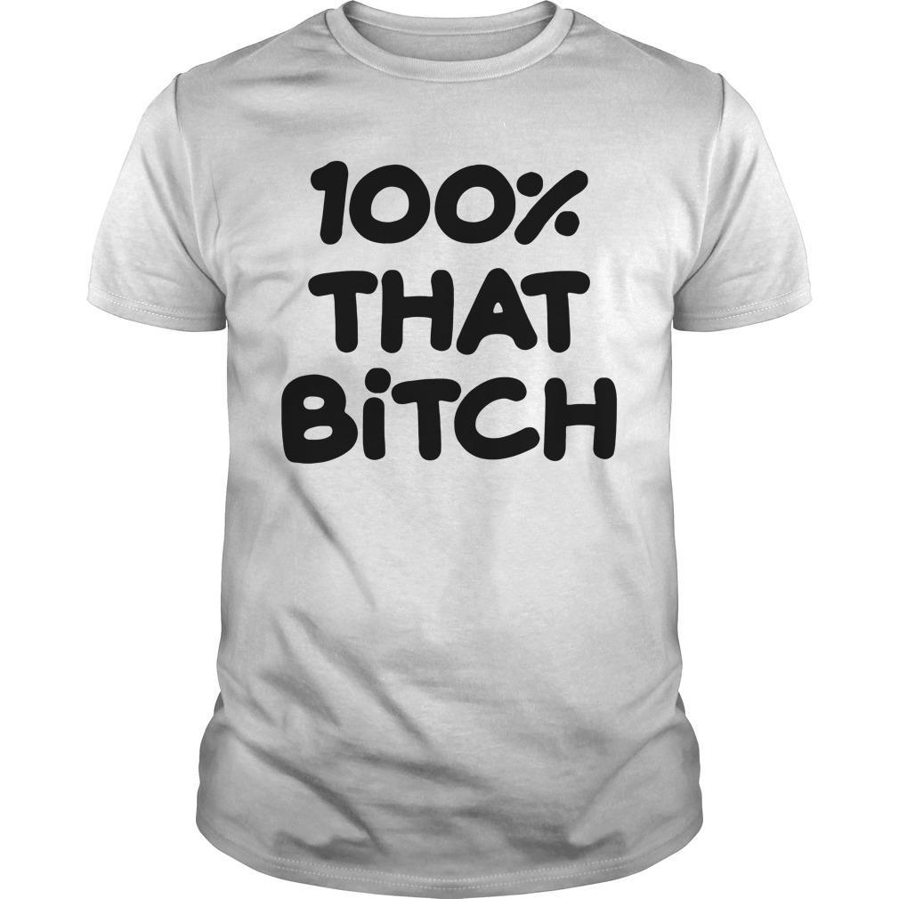 Lizzo Truth Hurts - 100% That Bitch Shirt