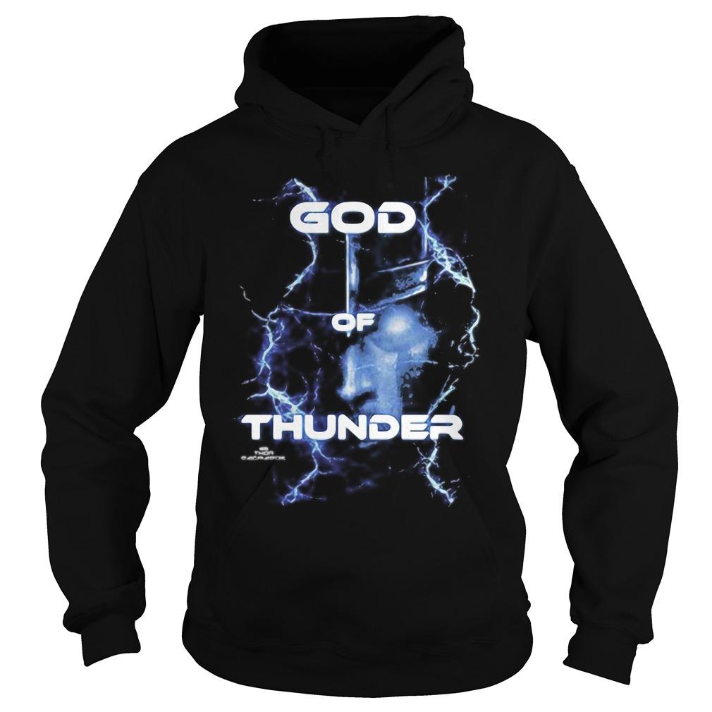 Marvel Thor Ragnarok God of Thunder Graphic Tee Shirt hoodie