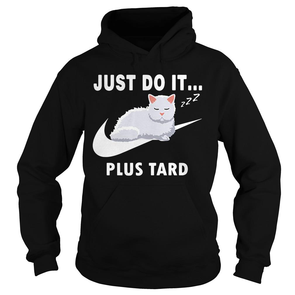 Nike Cat Just Do It Plus Tard Shirt hoodie