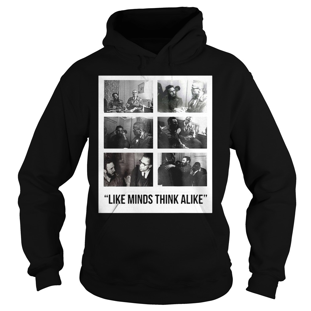 Nike Colin Kaepernick Fidel Castro Like Minds Think Alike Shirt hoodie
