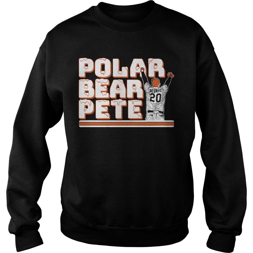 Polar Bear Pete Alonso Shirt sweater
