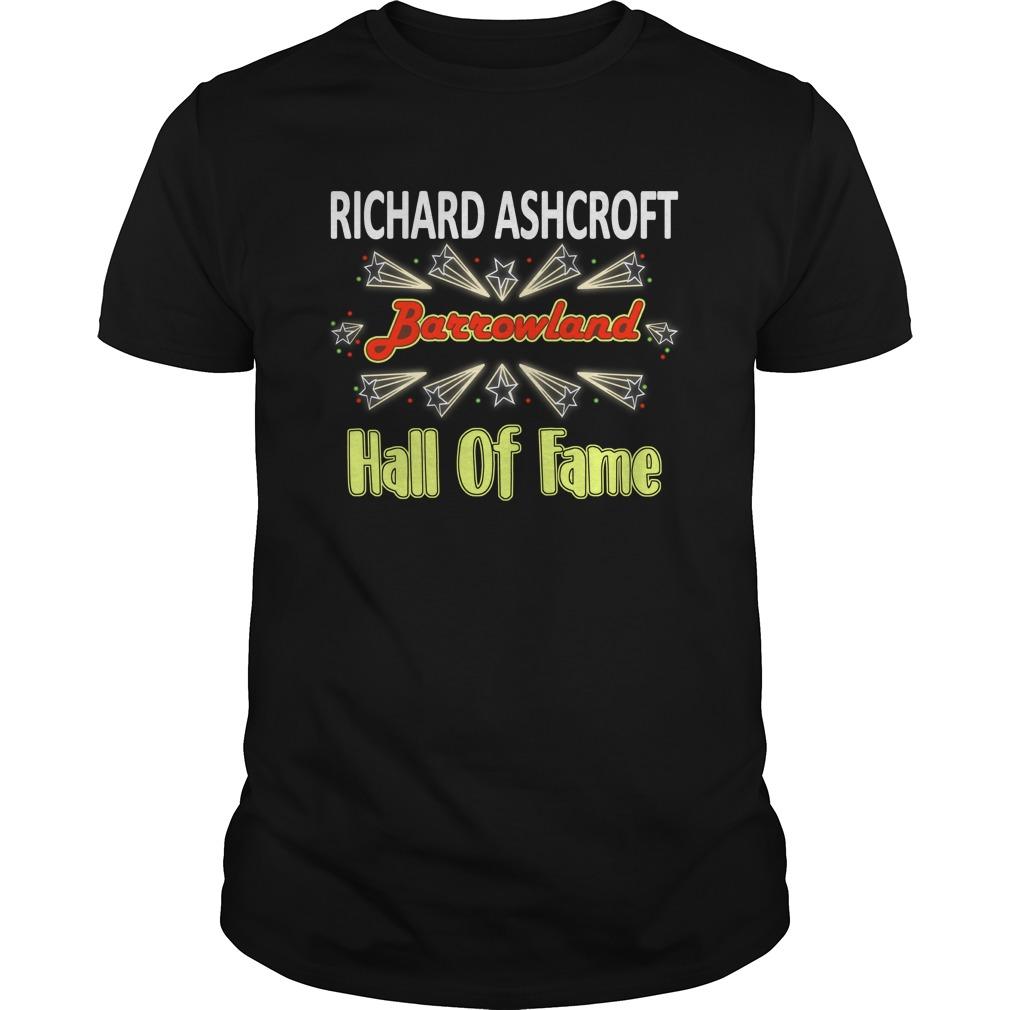 Richard Ashcroft Barrowland Hall Of Fame Shirt