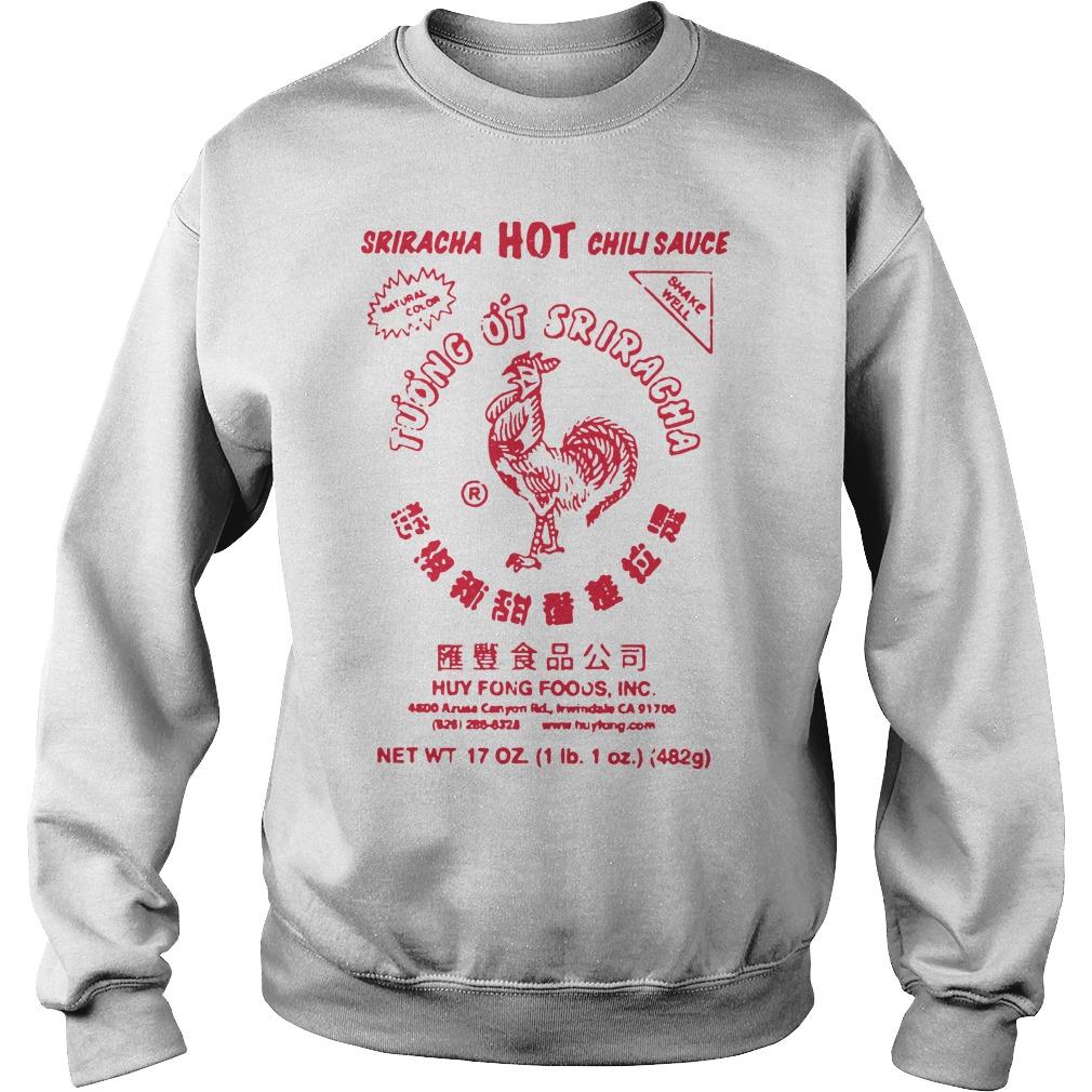 Sriracha Hot Chili Sauce Cool Design Baby Girl Boy Onesies Shirt sweater