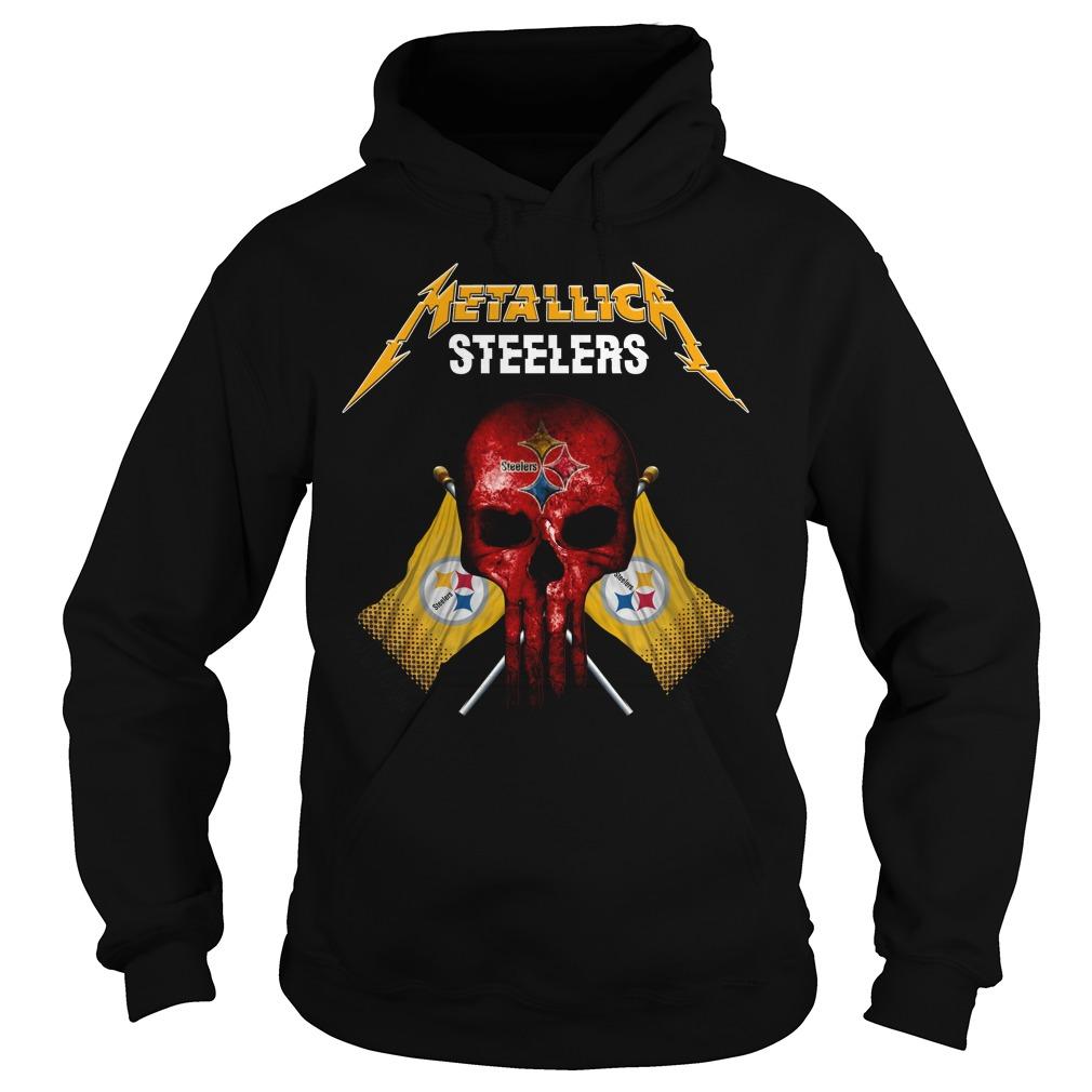 Steelers Metallic Flag Shirt hoodie