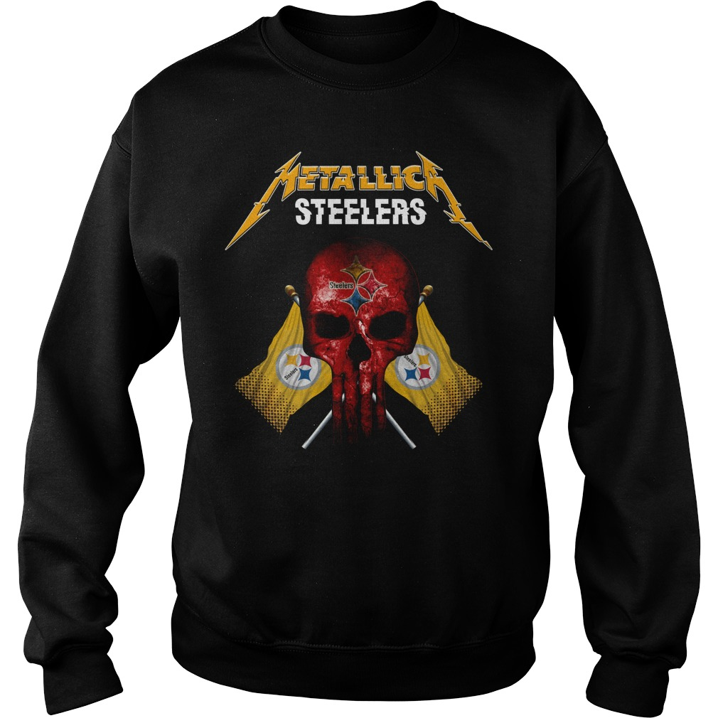 Steelers Metallic Flag Shirt sweater