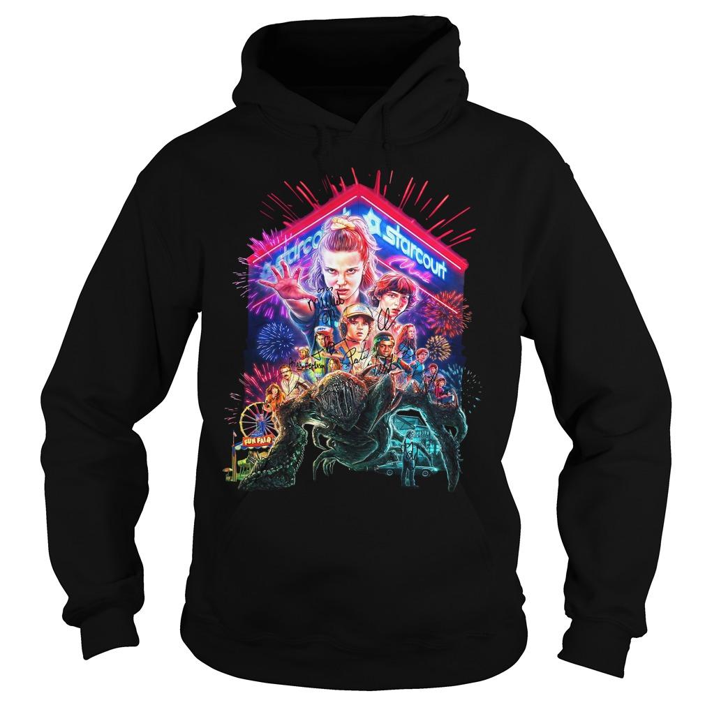 Stranger Things Season 3 Poster Starcourt Signature Shirt hoodie