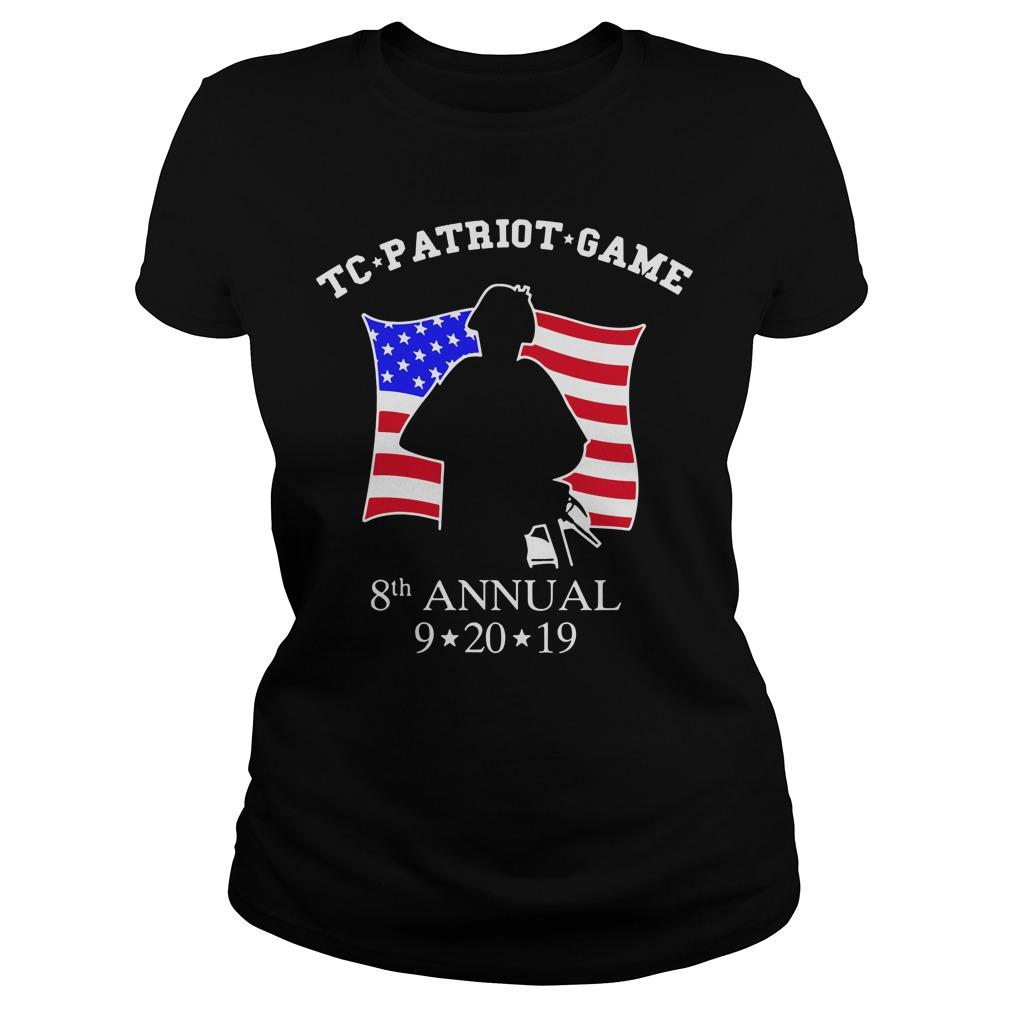 TC Patriot Game Shirt ladies tee