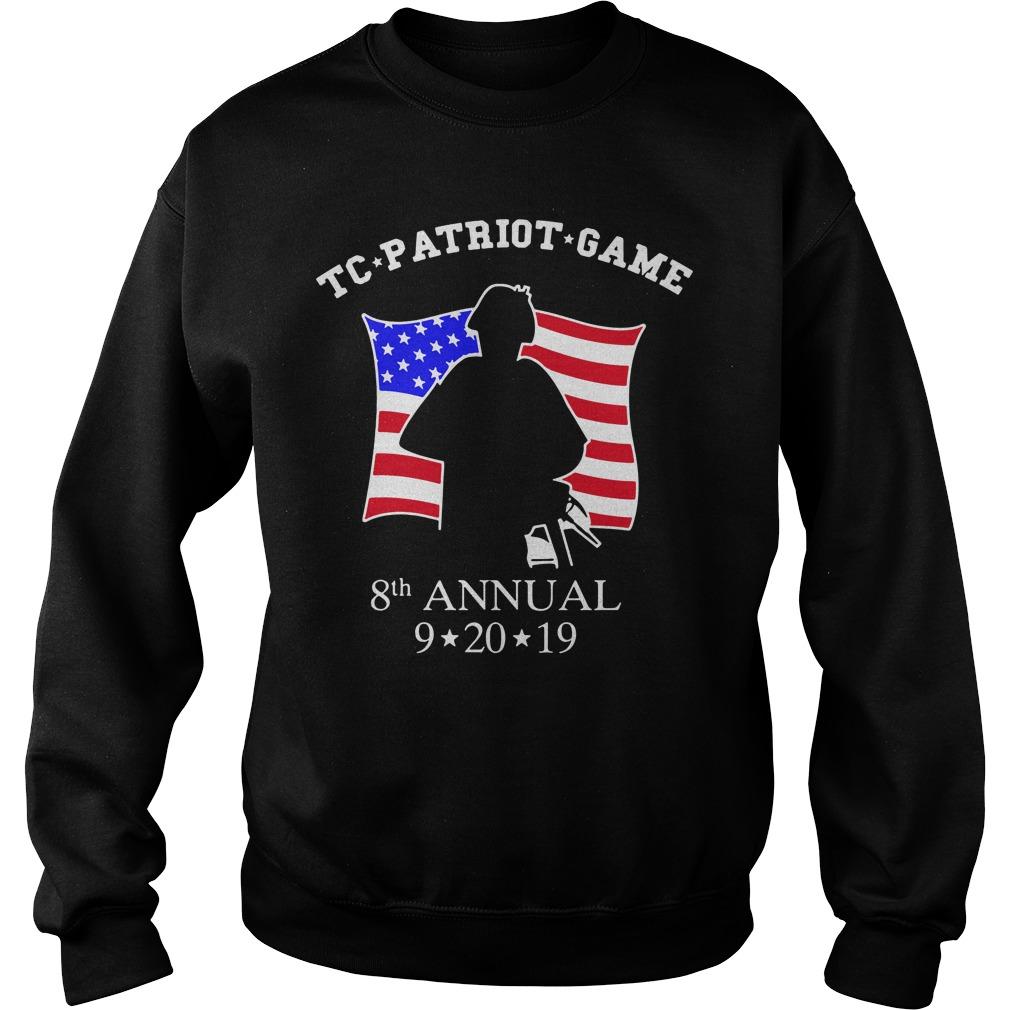 TC Patriot Game Shirt sweater