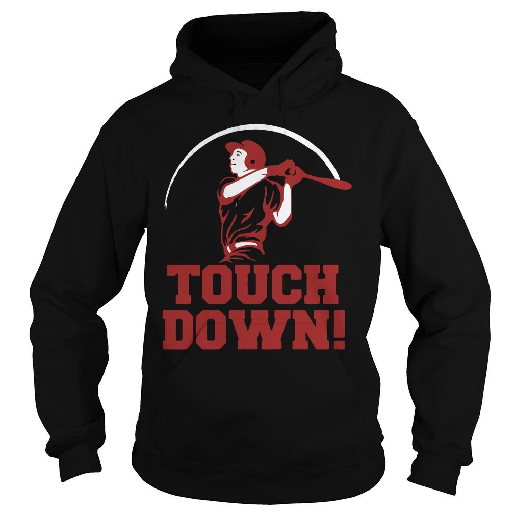 Touchdown Baseball Shirt hoodie