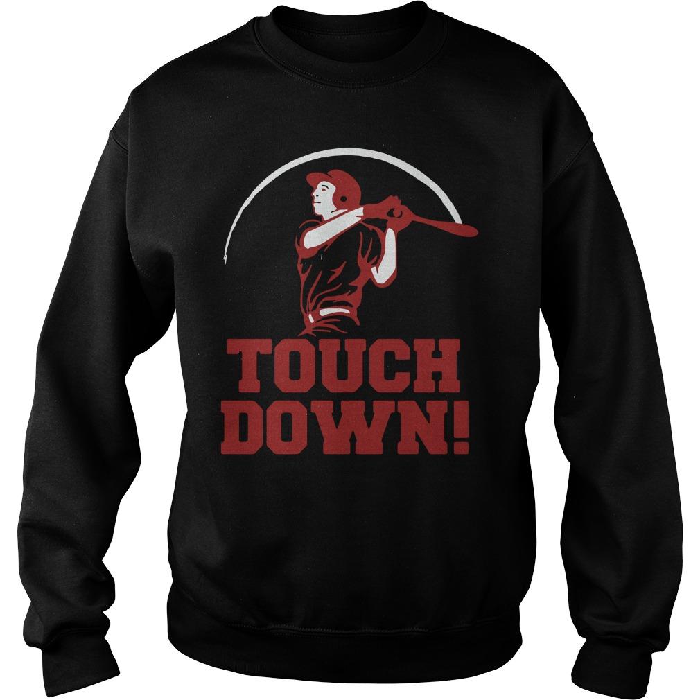 Touchdown Baseball Shirt sweater