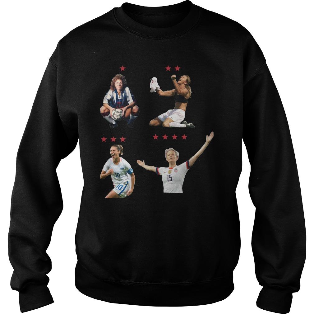 USWNT 4 World Cup 2019 Shirt sweater