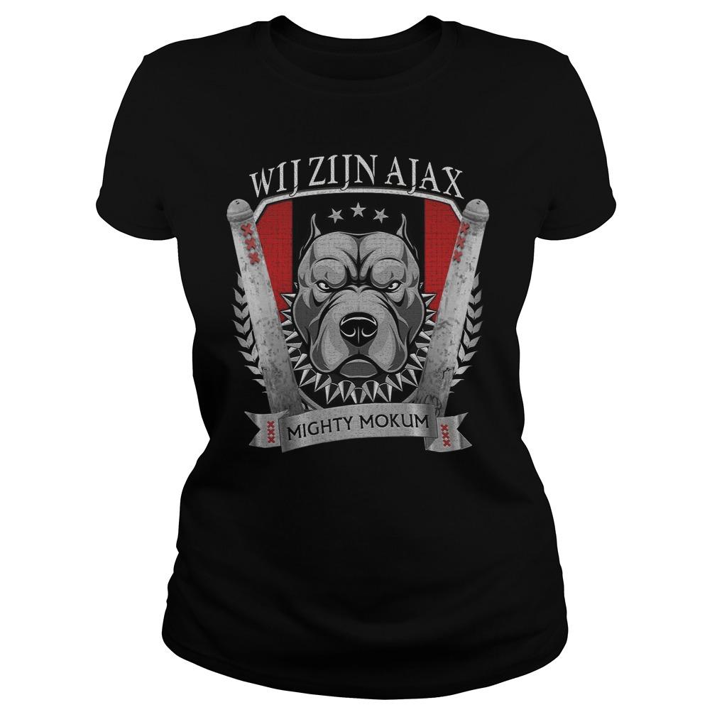 Wij Zijn Ajax Mighty Mokum Shirt ladies tee