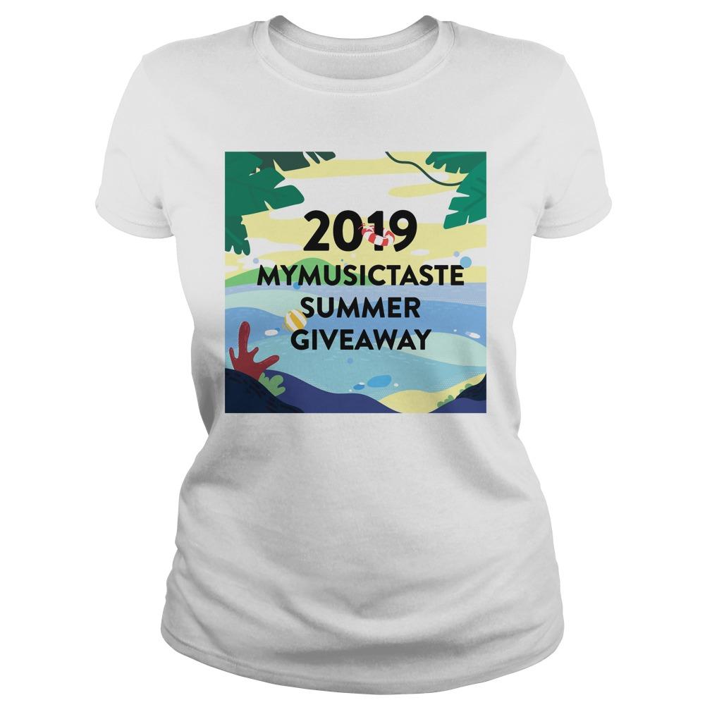 2019 Mymusictaste Summer Giveaway Shirt ladies tee