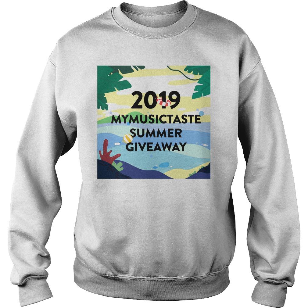 2019 Mymusictaste Summer Giveaway Shirt sweater