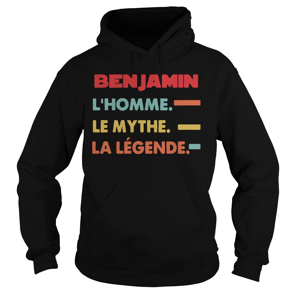 Benjamin L'homme Le Mythe La Legende Shirt hoodie