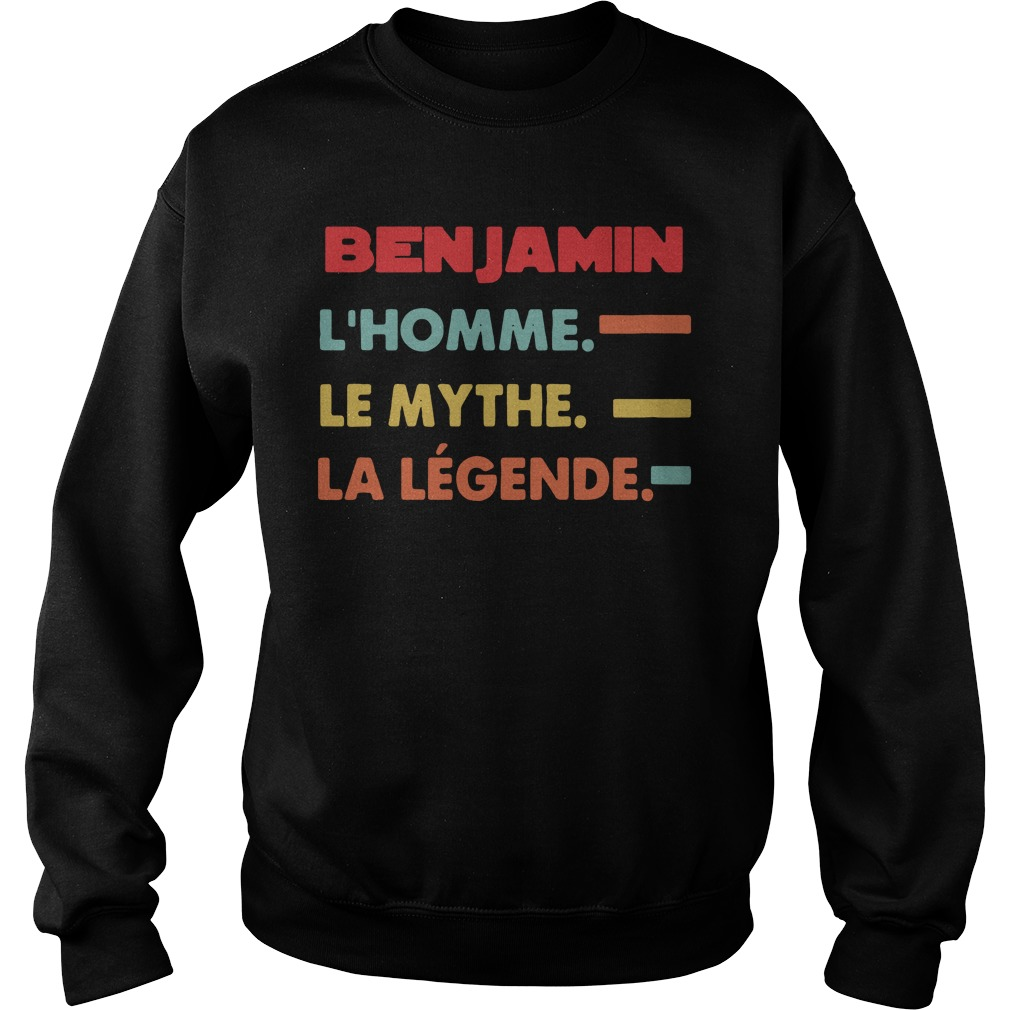 Benjamin L'homme Le Mythe La Legende Shirt sweater
