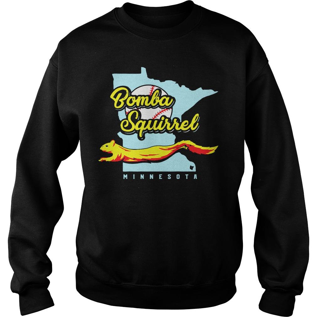 Bomba Squirrel Minnesota Black Shirt sweater
