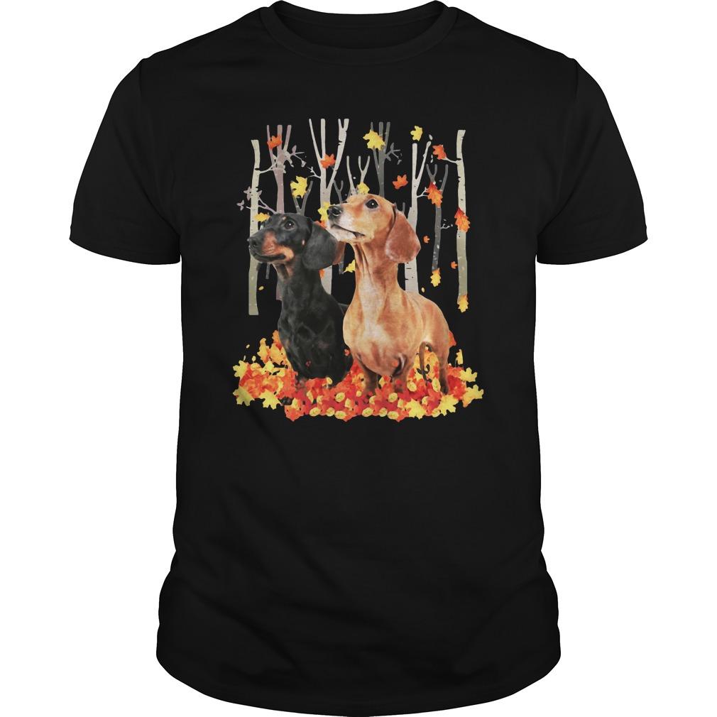 Dachshund Autumn Forest Shirt