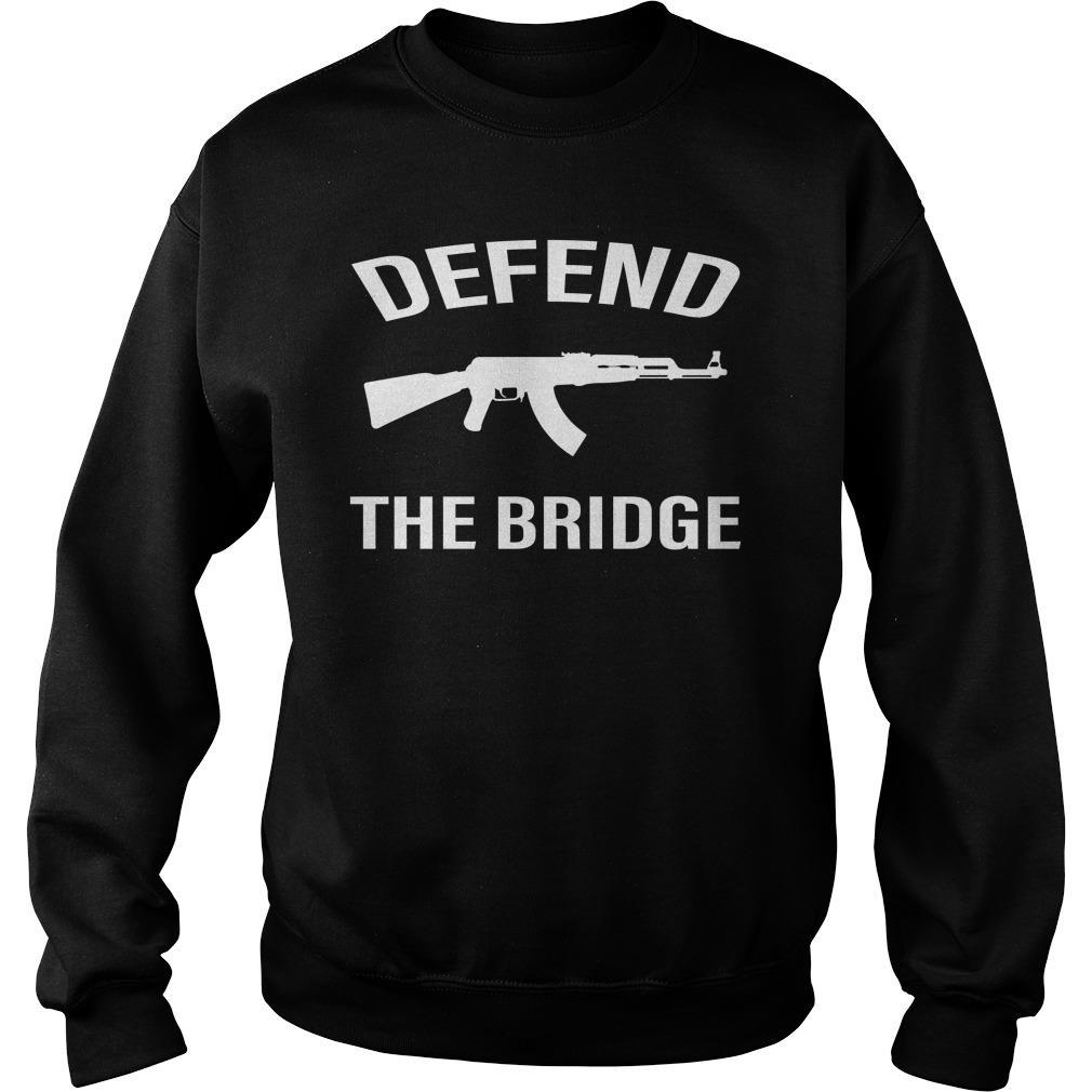 Defend The Bridge Black Shirt sweater