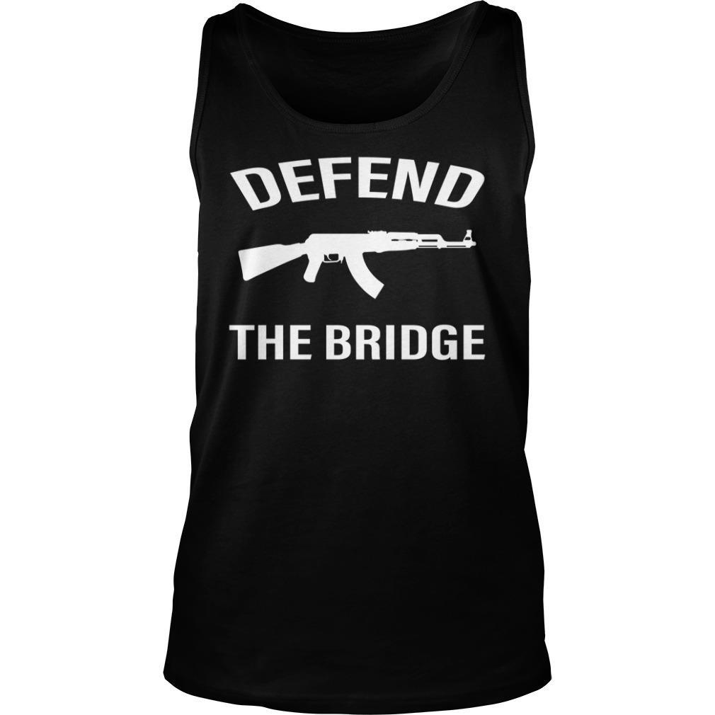 Defend The Bridge Black Shirt tank top