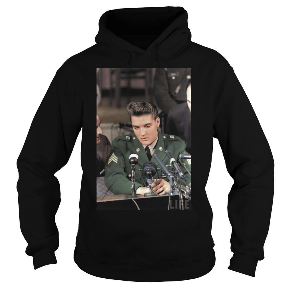 Elvis Presley Facts Black Shirt hoodie